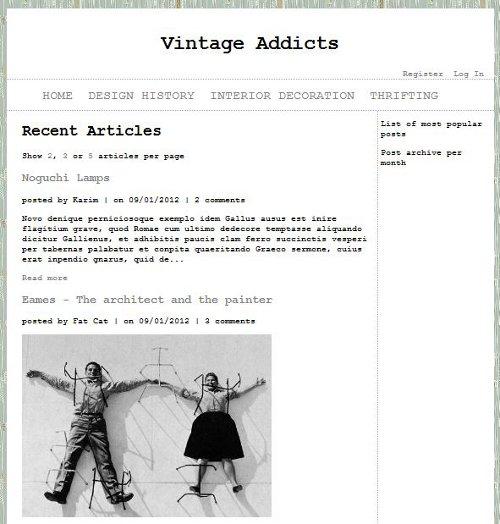 Final Project In ASPNet MVC3 Blog Thumbnail